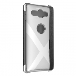 Made for Xperia funda Folio Sony Xperia XZ2 Compact negra