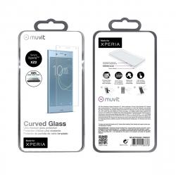 Made for Xperia protector pantalla Sony Xperia XZ2 vidrio templado curvo