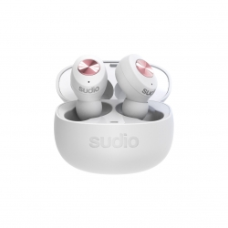 Sudio Tolv Auriculares Bluetooth True Wireless premium blanco