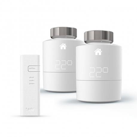 Tado kit inicio cabezal termostático inteligente y bridge para internet