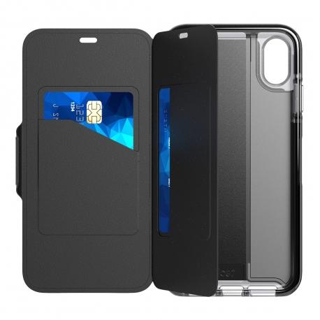 Tech21 funda Evo Wallet Apple iPhone Xs Max negra