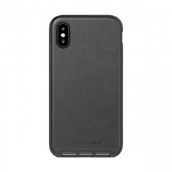 Tech21 carcasa Evo Luxe Apple iPhone Xs/X piel negra