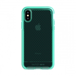 Tech21 carcasa Evo Check Apple iPhone Xs/X verde transparente