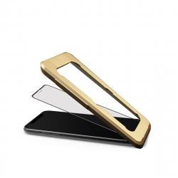 muvit Tiger Glass+ Apple iPhone XS Max vidrio templado curvo case friendly con aplicador