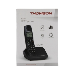 Thomson teléfono inalámbrico Mica Plus negro