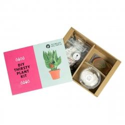 Tech Will Save Us Thirsty Plant Kit Sensor de humedad para el riego de plantas para niños 8+