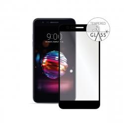 Vodafone protector de pantalla LG K11/K10 2018 vidrio templado marco negro