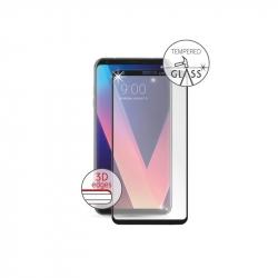 Vodafone protector pantalla LG V30 vidrio templado curvo marco negro