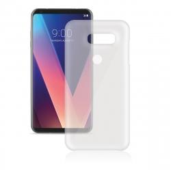 Vodafone pack LG V30 funda transparente + protector pantalla flexible