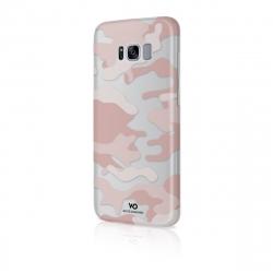 White Diamonds carcasa Camuflaje Samsung Galaxy S8 rosa translúcida