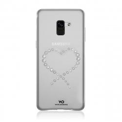 White Diamonds carcasa Eternity Samsung Galaxy A8 2018 transparente