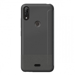 Wiko funda Smart Folio WiLine View 2 Plus gris