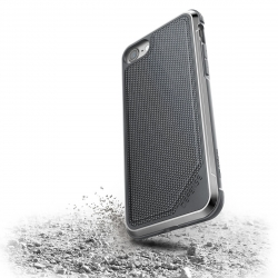 Xdoria carcasa Defense Lux Nylon Apple iPhone SE/8 negra