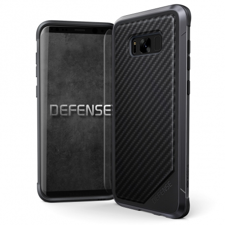 Xdoria carcasa Defense Lux Carbono Samsung Galaxy S8 Plus negra