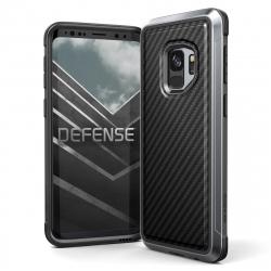 Xdoria carcasa Defense Lux Carbono Samsung Galaxy S9 negra