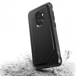 Xdoria carcasa Defense Lux Carbono Samsung Galaxy S9 Plus negra