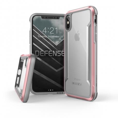 Xdoria carcasa Defense Shield Apple iPhone Xs/X oro rosa