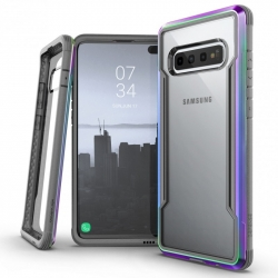Xdoria carcasa Defense Shield Samsung Galaxy S10 iridiscente