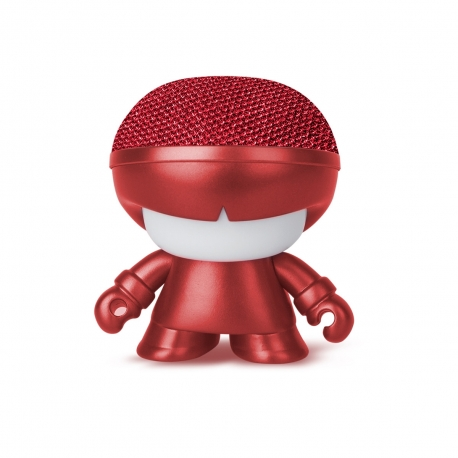 Xoopar Xboy Mini Altavoz bluetooth 3W color rojo metalizado con luz LED