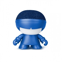 Xoopar Xboy Mini Altavoz bluetooth 3W color azul metalizado con luz LED