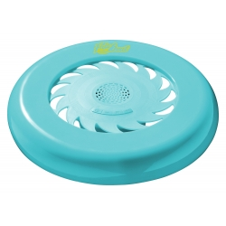 Frisbee Bluetooth IP4 con altavoz integrado azul