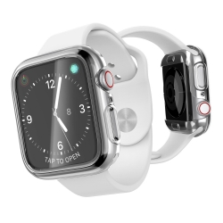Xdoria carcasa Defense 360X Apple Watch 44mm transparente