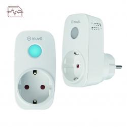 muvit iO Pack 2 enchufes inteligentes Wifi con monitor de energía