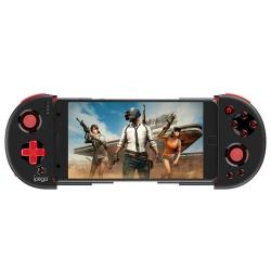 IPEGA mando de juegos para Smartphone compatible con Android & IOS con función turbo negro y rojo