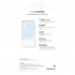Tech21 carcasa Pure Shimmer Apple iPhone Xs/X azul