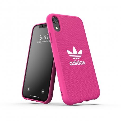 Adidas carcasa Adicolor Apple iPhone XR rosa