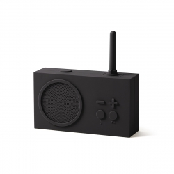 Lexon Tykho 3 radio FM/Bluetooth gris oscuro