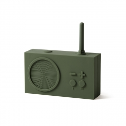 Lexon Tykho 3 radio FM/Bluetooth caqui