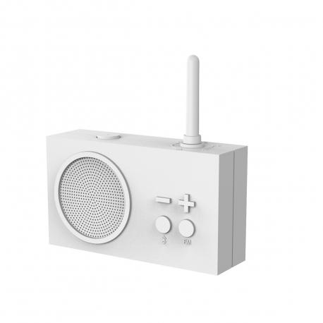 Lexon Tykho 3 radio FM/Bluetooth blanco