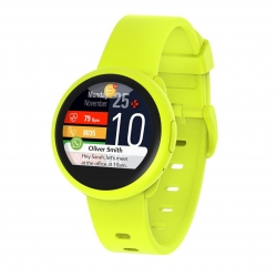 MyKronoz reloj ZeRound 3 Lite amarillo
