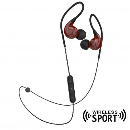 muvit auriculares estéreo sport wireless M2S V2 rojo
