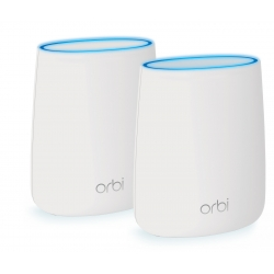 Netgear sistema Wifi Red Mesh Tribanda AC2200 con cobertura de 250m (router + satelite) Orbi