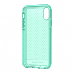 Tech21 carcasa Evo Check Apple iPhone XR verde transparente