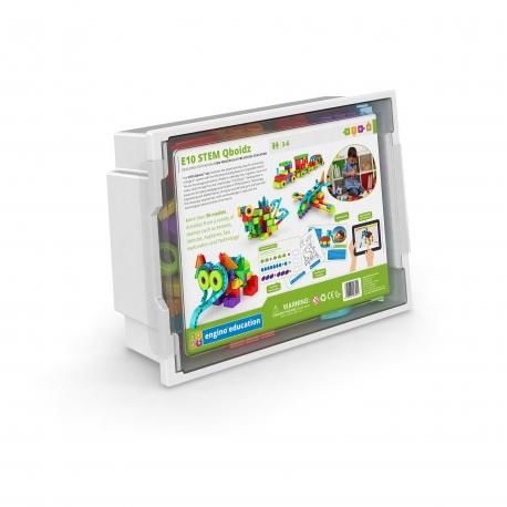 Engino Education E10 Qboidz Set Kit de construcción STEAM