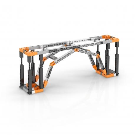 Engino Education E91 Kit de arquitectura STEAM Torre Eiffel y Puente de Sydney