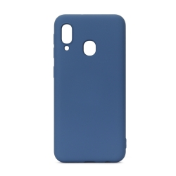 muvit Life funda liquid soft Samsung Galaxy A20e Blue