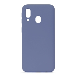 muvit Life funda liquid soft Samsung Galaxy A40 Grey