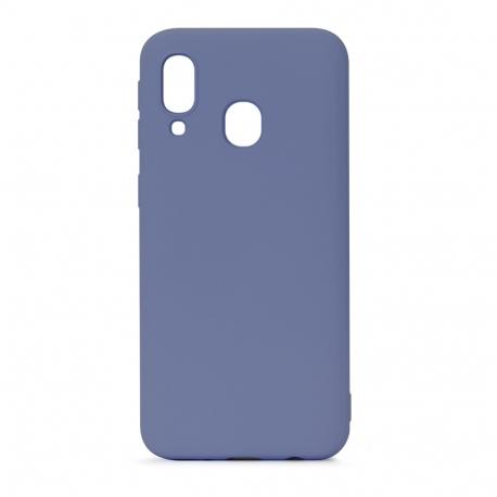 muvit Life funda liquid soft Samsung Galaxy A40 Grey