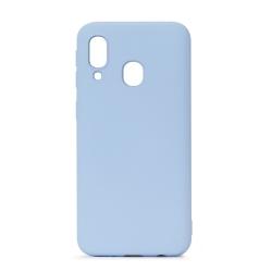 muvit Life funda liquid soft Samsung Galaxy A40 Blue Sky