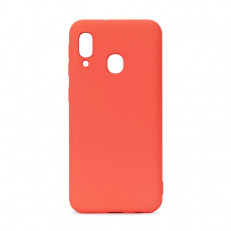 muvit Life funda liquid soft Samsung Galaxy A40 Coral