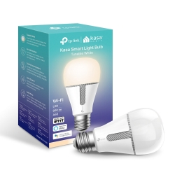 TP-Link Bombilla KASA LED Wi-Fi Inteligente Blanca Regulable 800 Lm 10W 2700k-5000k