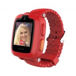 Elari Kidphone 3G Reloj inteligente para niños con video llamada y resistente al agua rojo