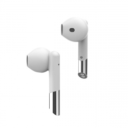 Mykronoz Auriculares True Wireless ZeBuds blanco