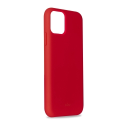 Puro funda silicona Icon Apple iPhone 11 Pro Max roja