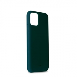 Puro funda silicona Icon Apple iPhone 11 Pro verde oscuro