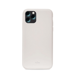 Puro funda silicona Icon Apple iPhone 11 gris
